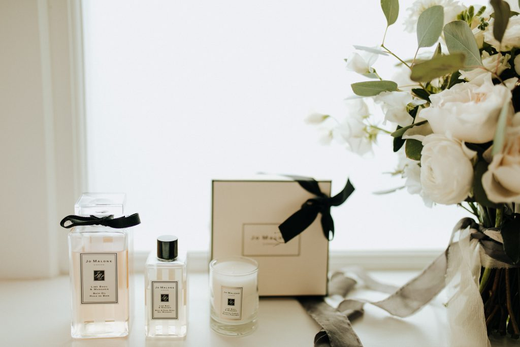 Jo Malone and flowers